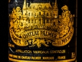 Chateau Palmer 1988, grand cru classe, Bordeaux, Wine bottle photographed in studio with Fresnel Lighting. Pic: Brendan Lyon.