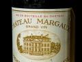 Chateaux Margaux 1999, Premier Grand Cru Classe, Bordeaux, Wine bottle photographed in studio with Fresnel Lighting. Pic: Brendan Lyon.
