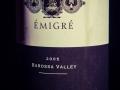 Emigre, The Colonial Estate, Barossa Valley, Australia, 2005, Wine bottle photographed in studio with Fresnel Lighting. Pic: Brendan Lyon.